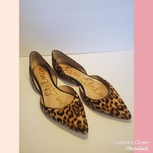 Sam Edelman Leopard Rodney Flats Size 10